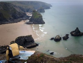 Bedruthan Steps, Summer 2006